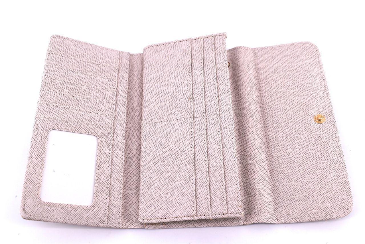 Dámská / dívčí peněženka z Ekokůže - světle modrá