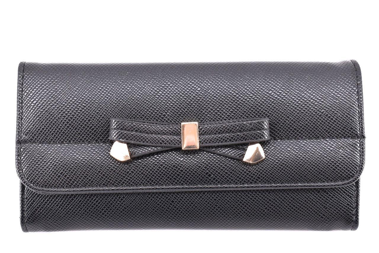 Dámská / dívčí peněženka z Ekokůže - černá