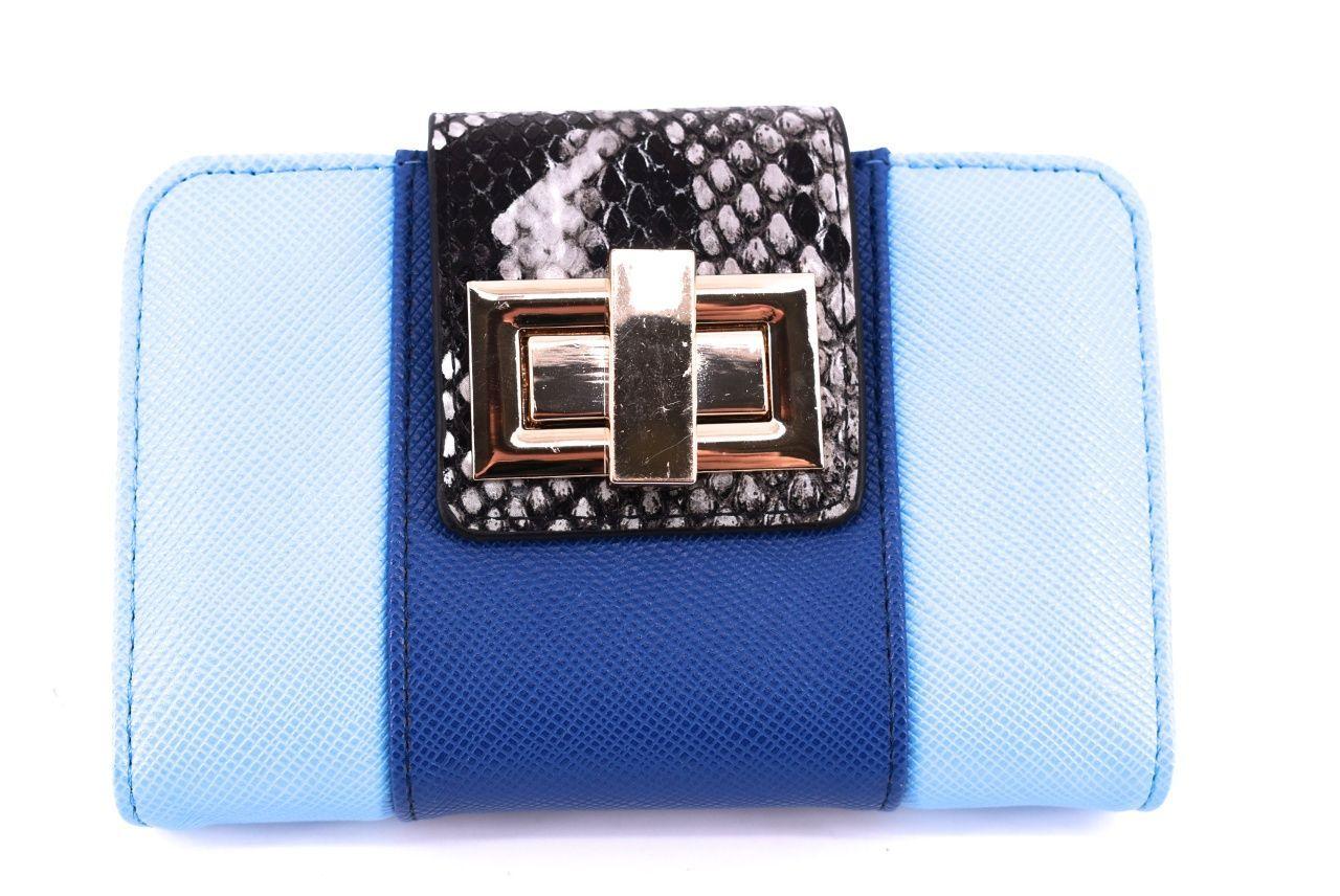 Dámská / dívčí peněženka z Ekokůže - světle modrá 29861