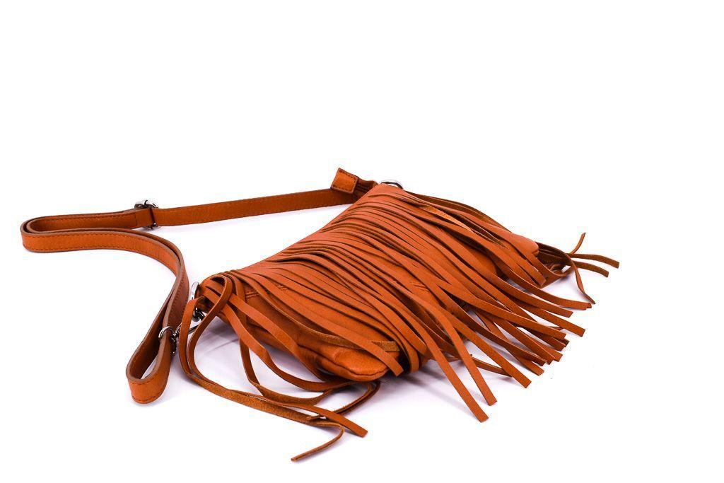 Dámská kožená kabelka crossbody Arteddy - tmavě modrá 32499
