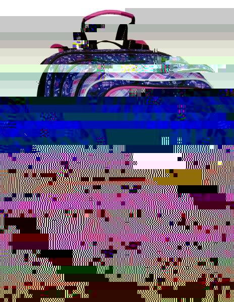 Dívčí školní batoh pro prvňáčky Bagmaster GALAXY 7 B VIOLET/PINK 8591805007230