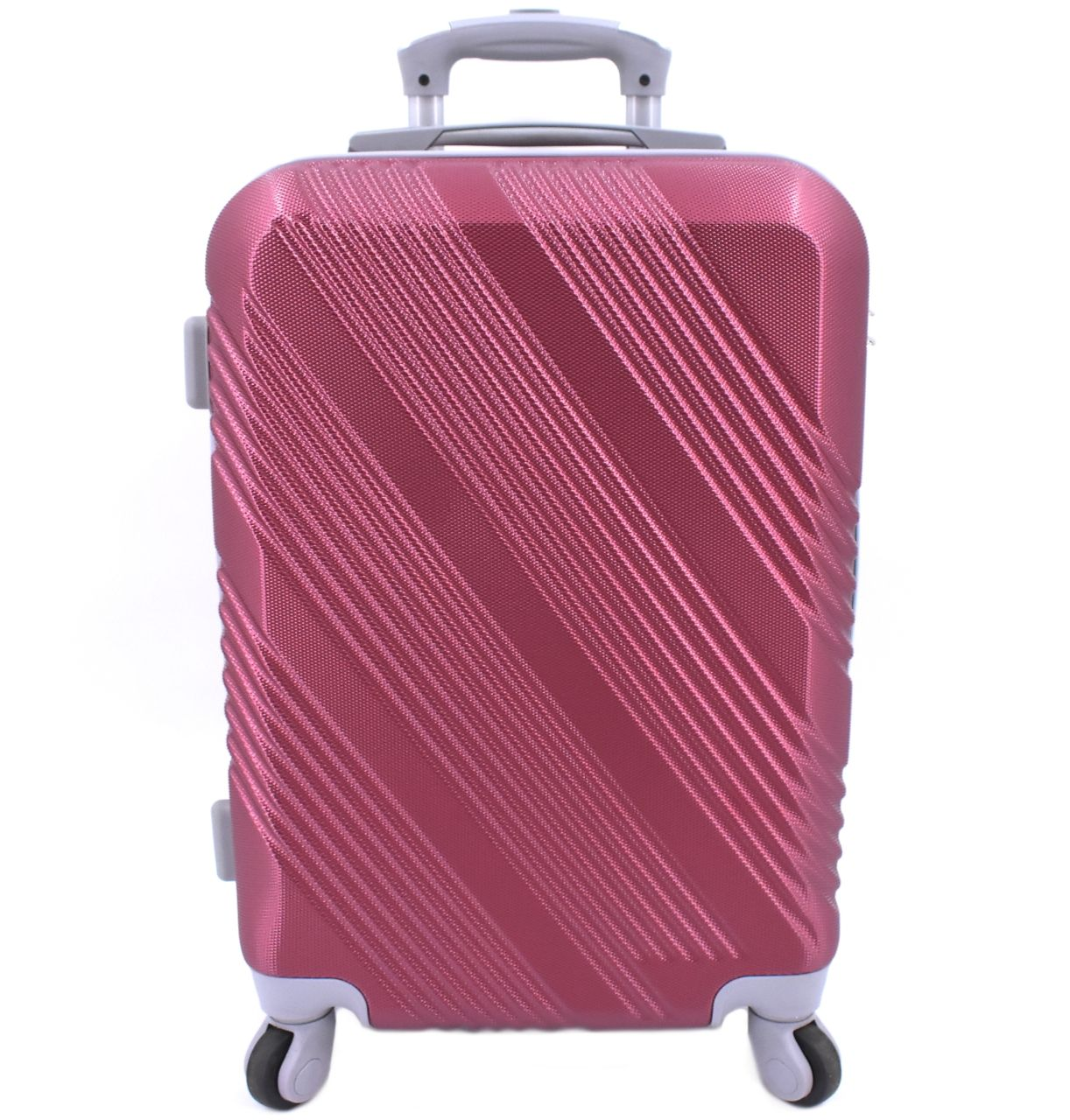 Cestovní palubní kufr Arteddy / 4 kolečka - vínová (S) 40l