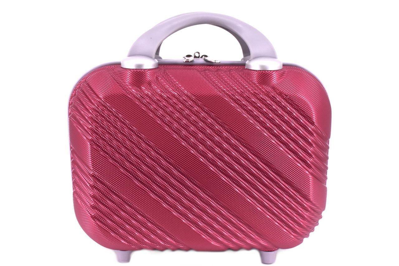 Kosmetický palubní příruční kufr Arteddy malý - vínová