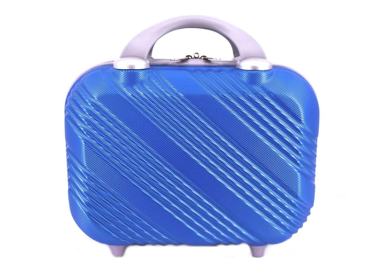 Kosmetický palubní příruční kufr Arteddy malý - modrá