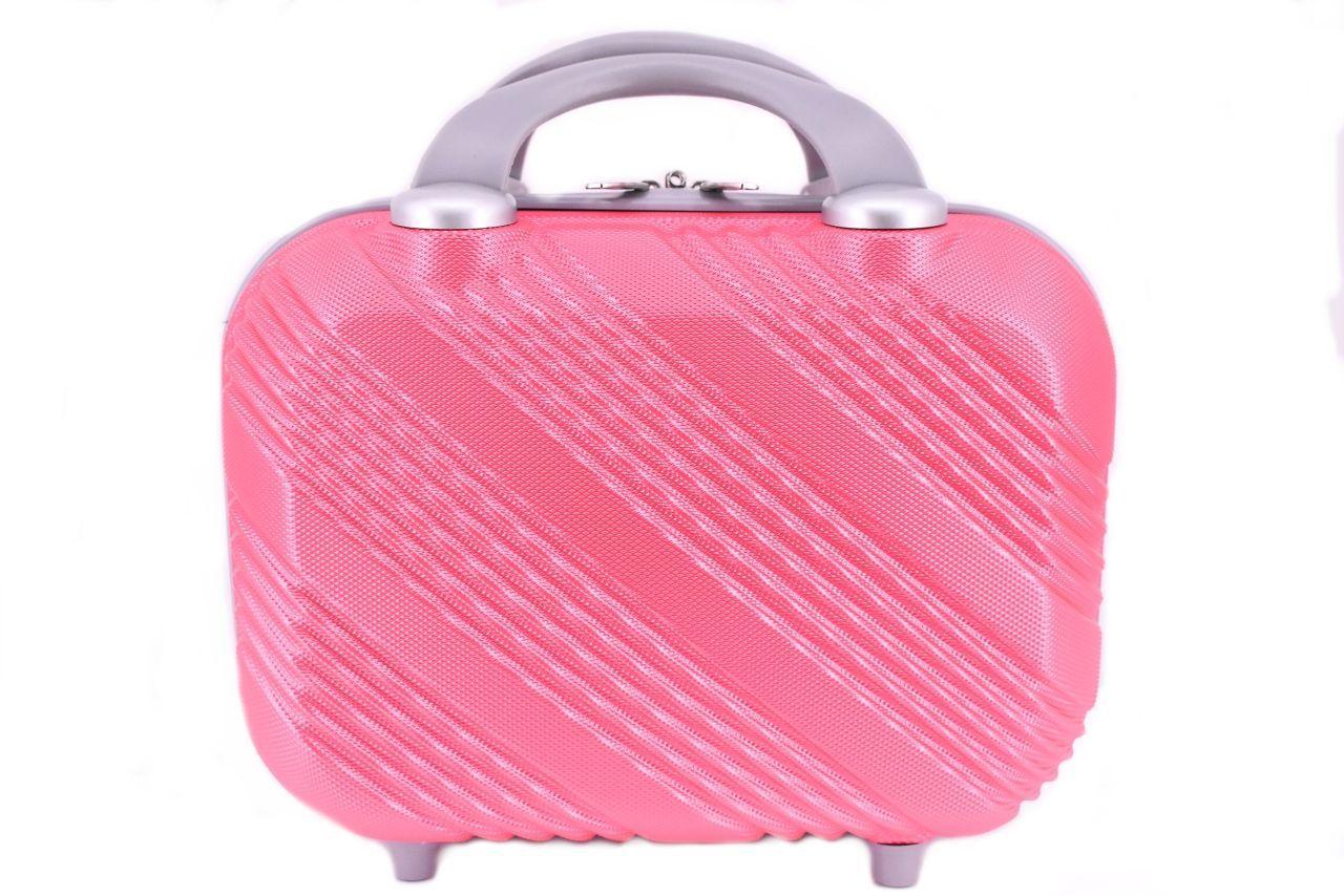 Kosmetický palubní příruční kufr Arteddy malý - růžová