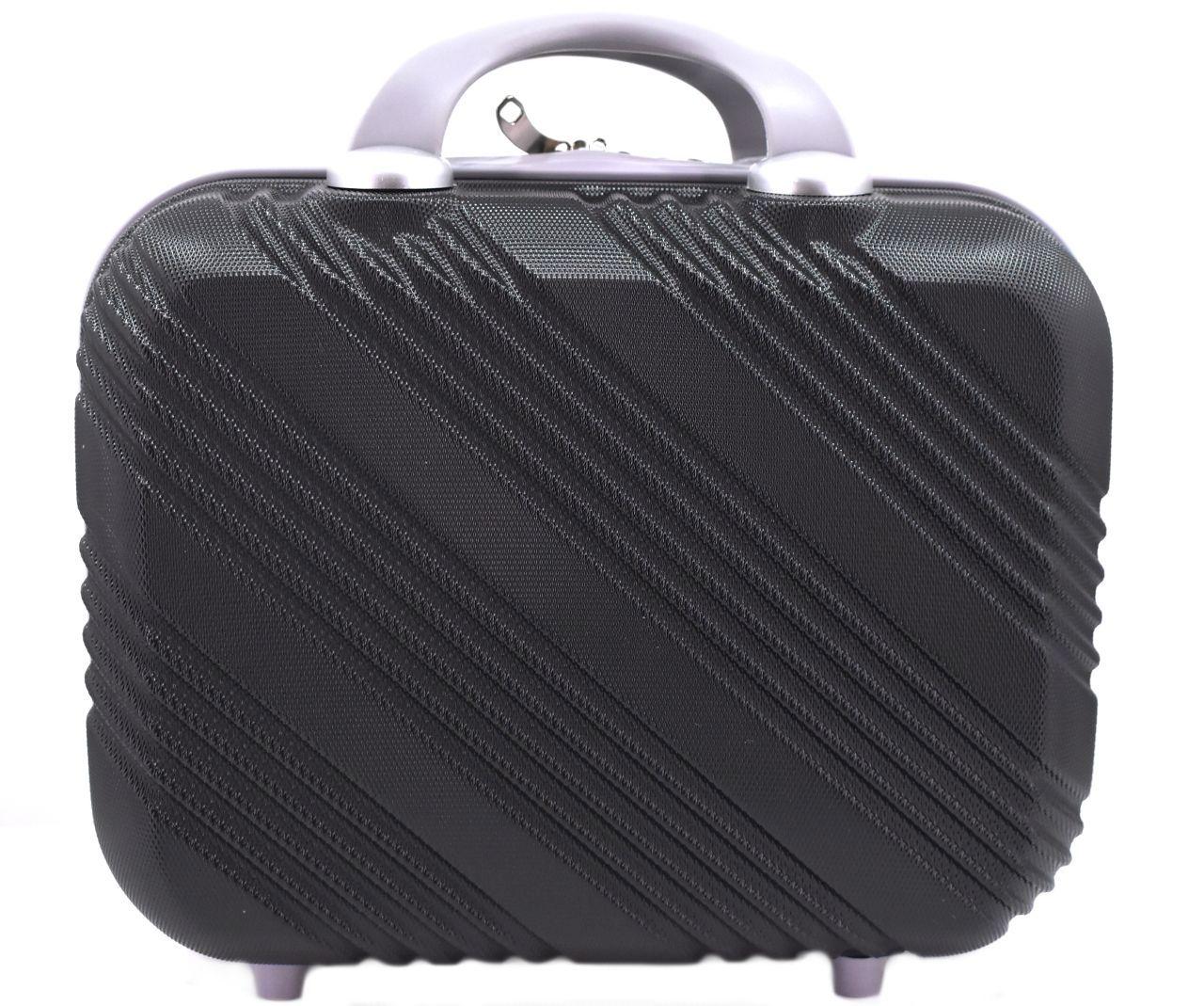 Kosmetický palubní příruční kufr Arteddy velký - černá