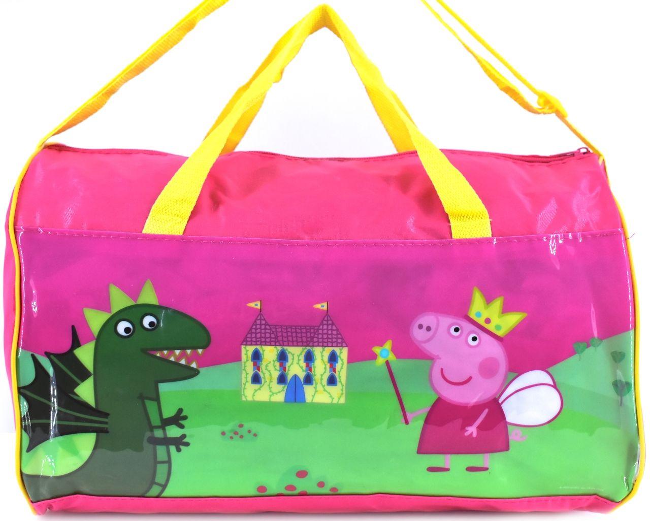 Levně Dětská cestovní taška Peppa Pig růžová