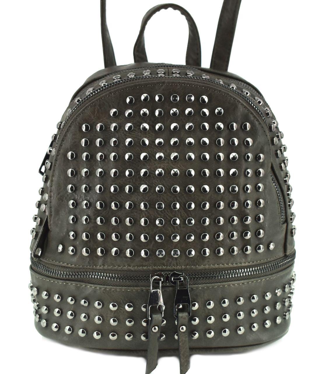 Moderní batoh a kabelka v jednom - tmavě zelená