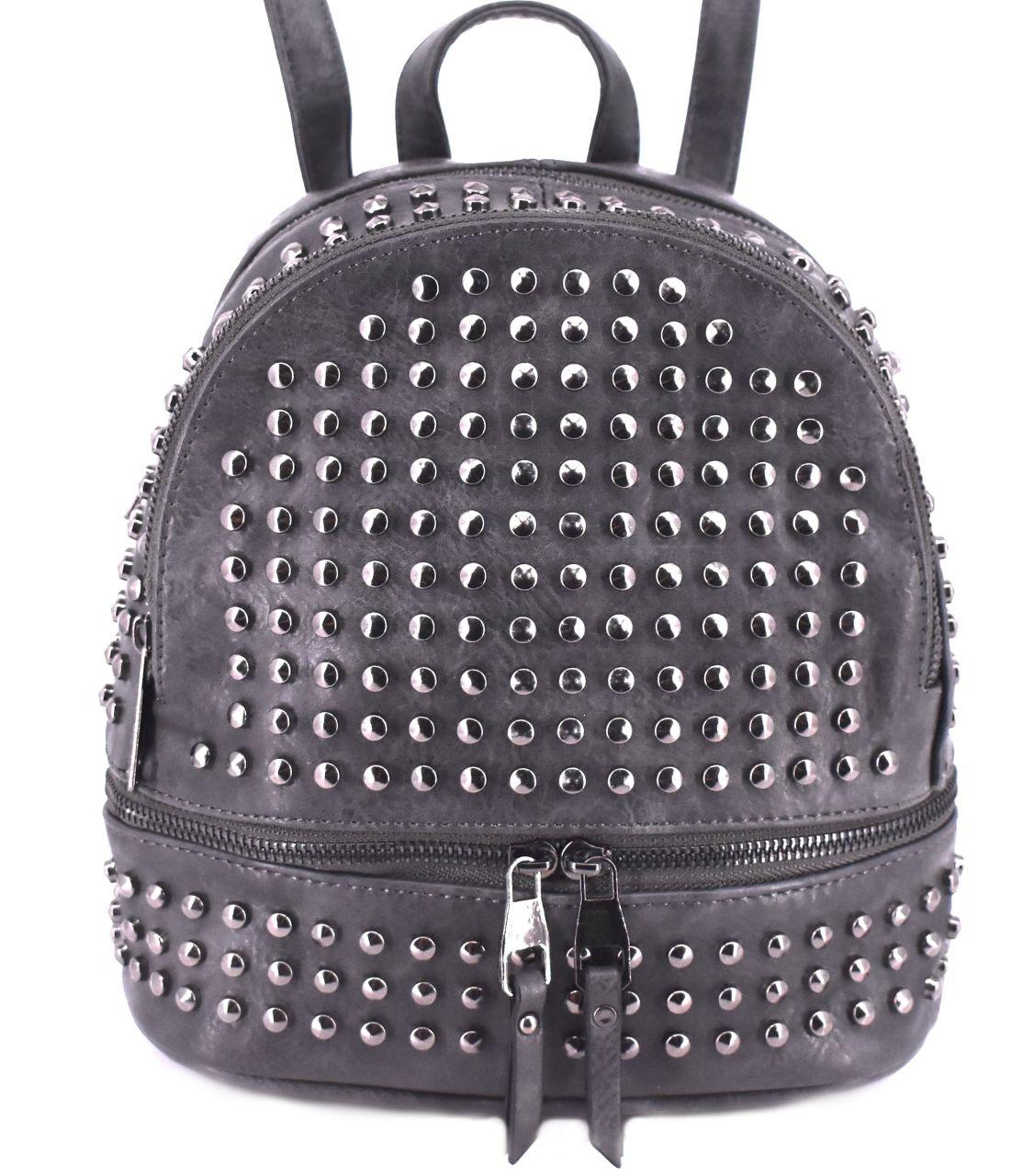 Moderní batoh a kabelka v jednom - šedá