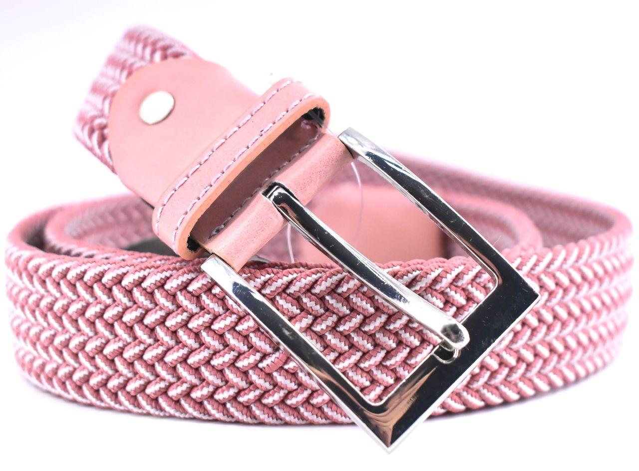 Jednobarevný elastický opasek Arteddy - růžová/pudrová /115 38506