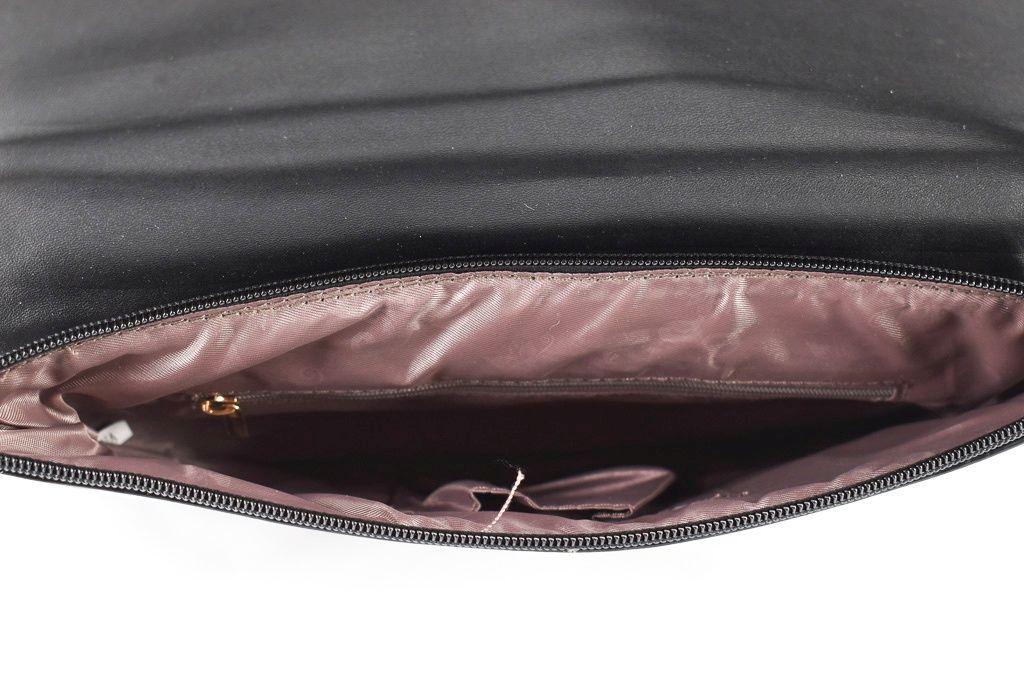 Dámská kabelka psaníčko - černá 30762