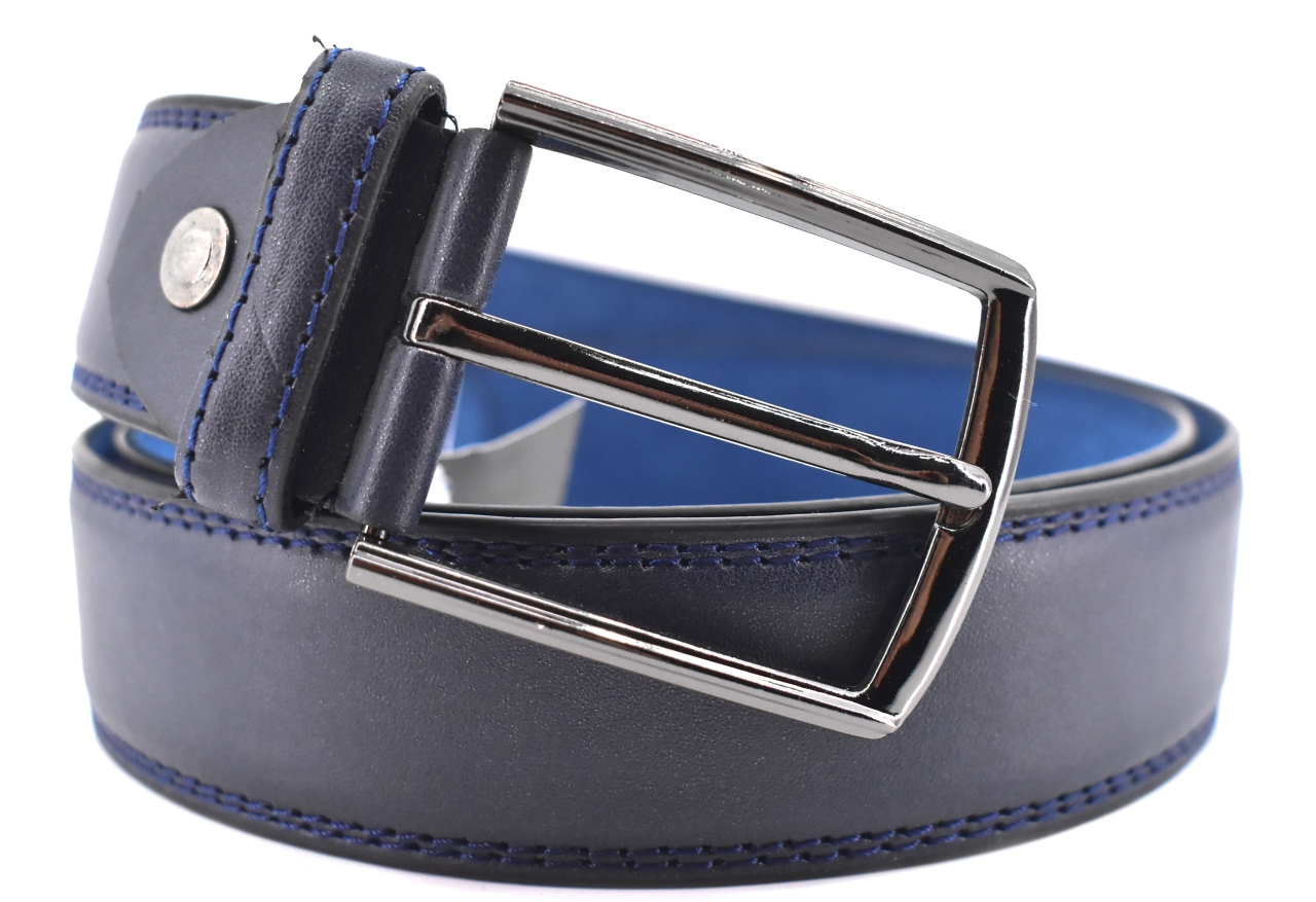 Široký opasek do Jeans - tmavě modrá / 115 38624