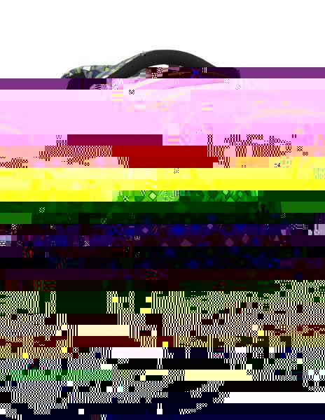 Školní batoh Bagmaster MAXVELL 6 B GREY/GREEN/BLUE - Výprodej 8591805006950