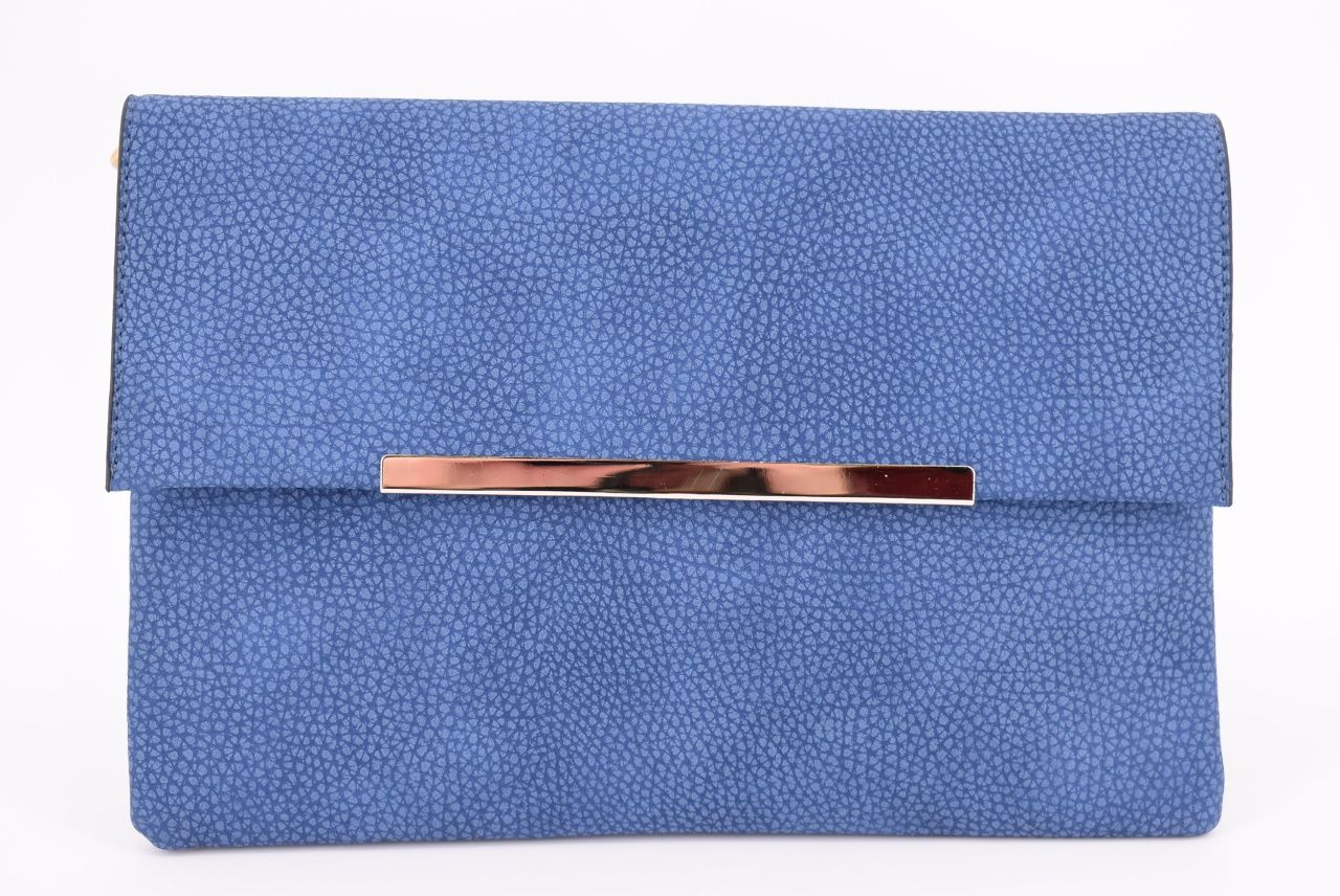 Dámská kabelka psaníčko - modrá 32047