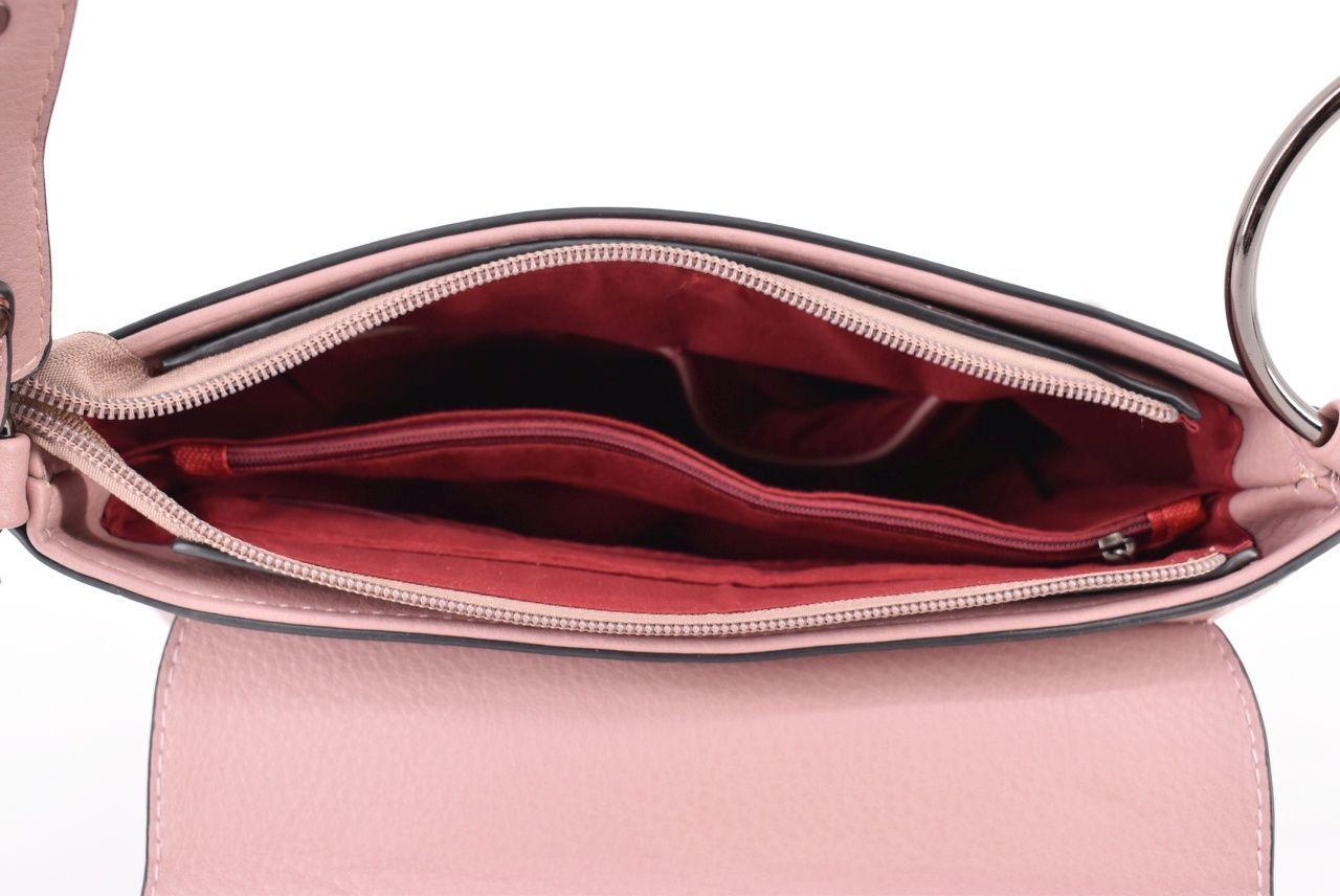 Dámská kabelka - červená 35754