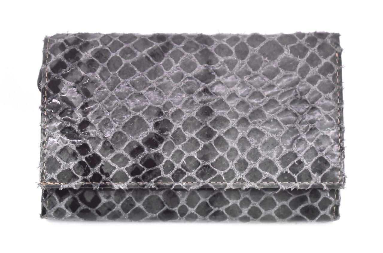 Luxusní dámská kožená peněženka z pravé kůže Arteddy - šedá 28627