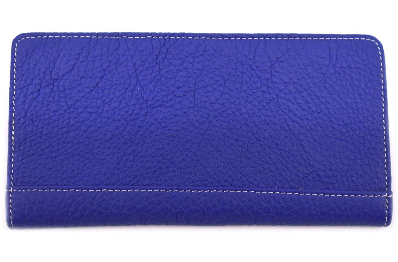Dámská/pánská kožená  dokladovka  k uložení kreditních karet a dokladů - světle modrá