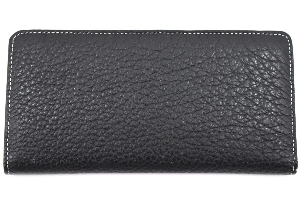 Dámská/pánská kožená  dokladovka  k uložení kreditních karet a dokladů - černá
