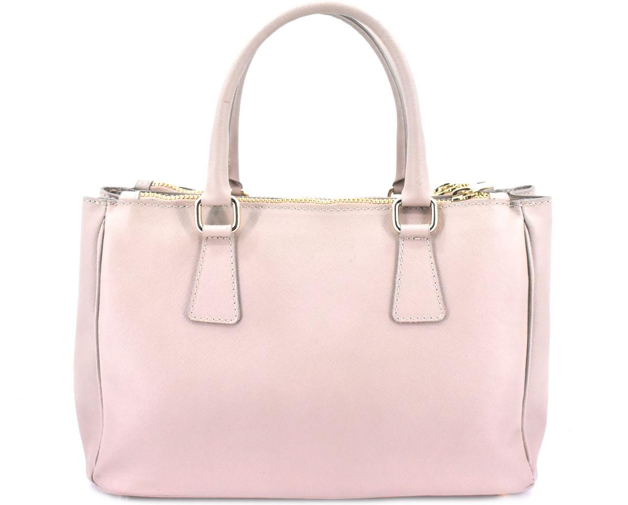 Moderní dámská kožená kabelka Arteddy - béžová 29551