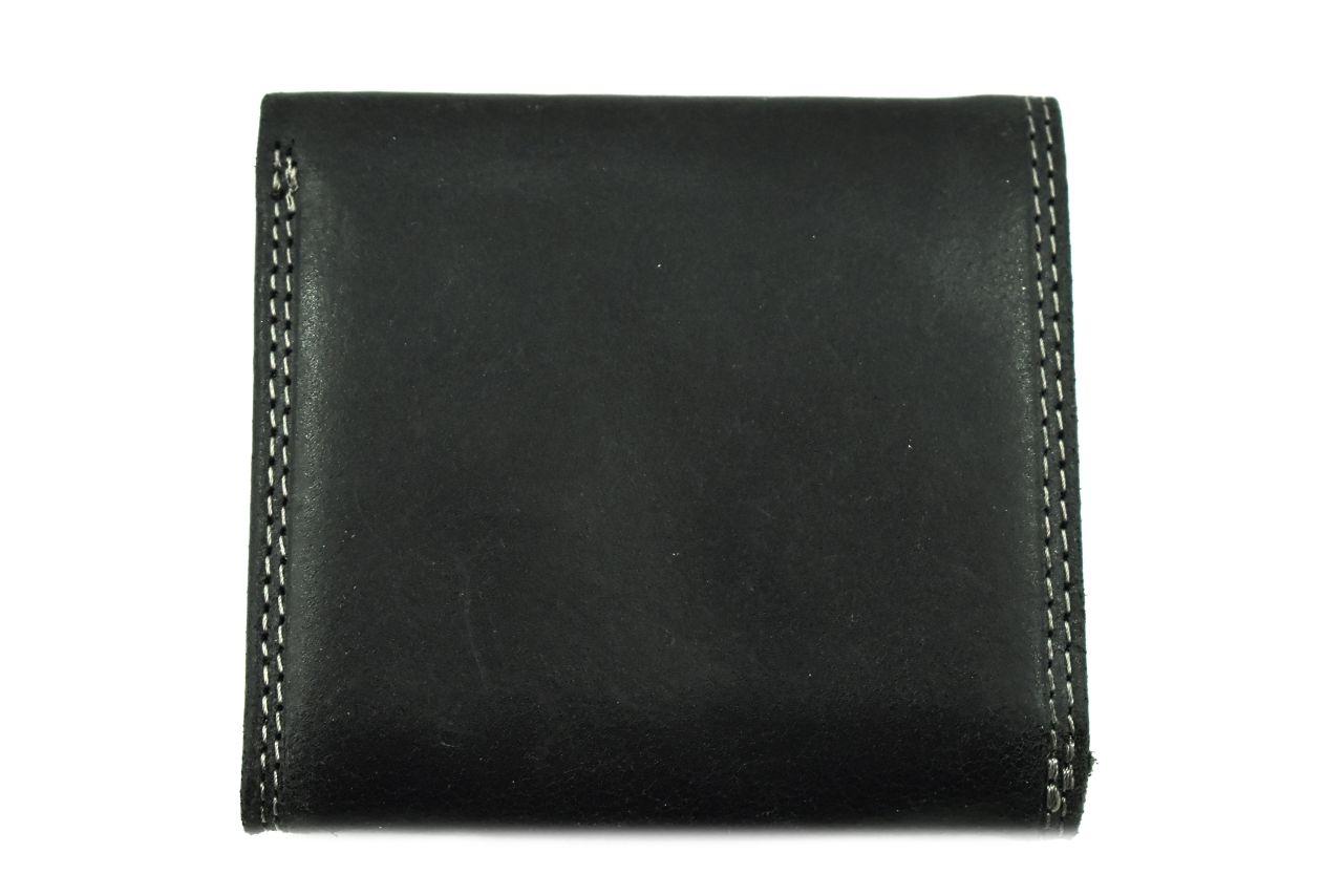 Pánská kožená peněženka z pravé kůže Harvey Miller - černá