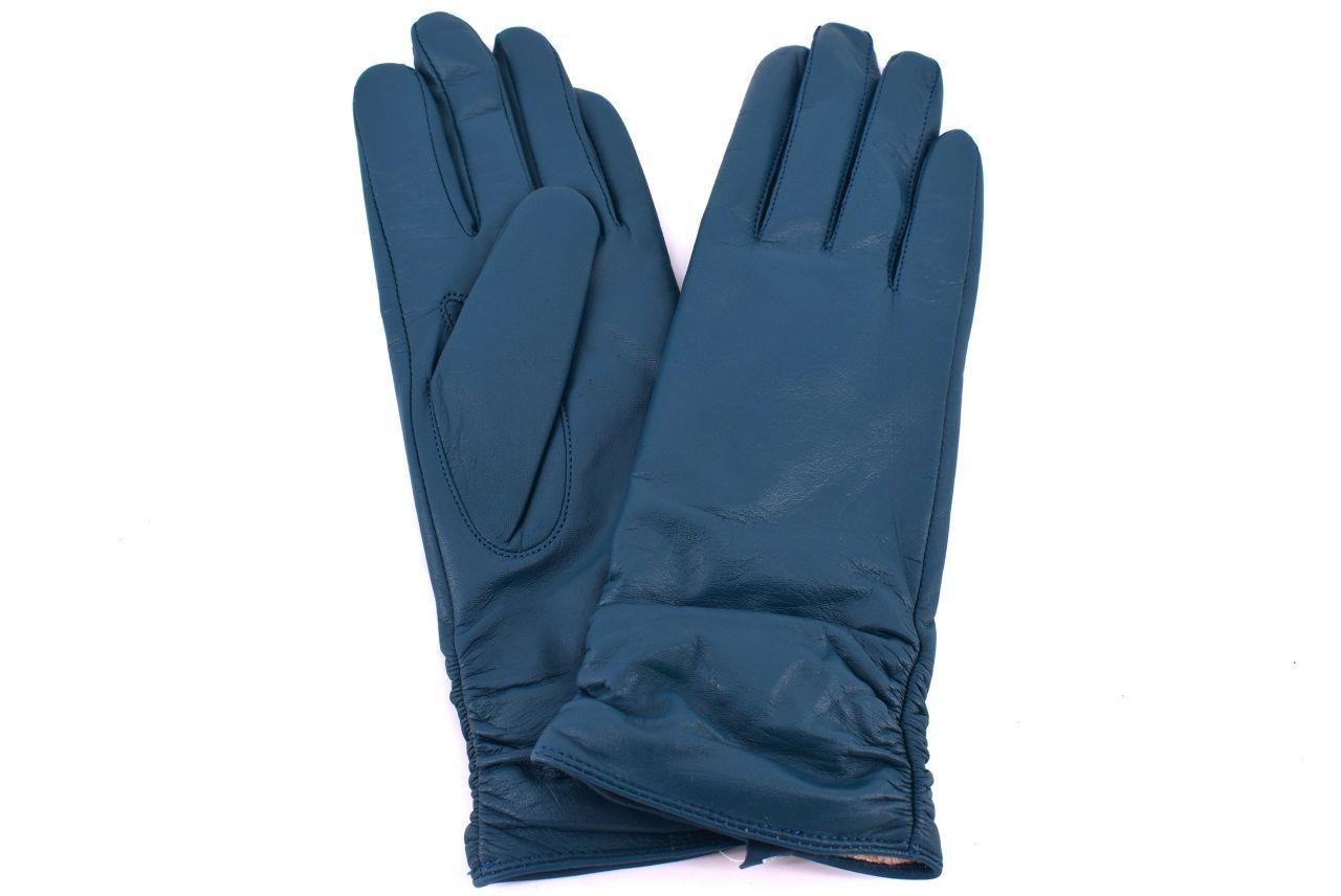 Dámské kožené rukavice Every - tyrkysová (S)