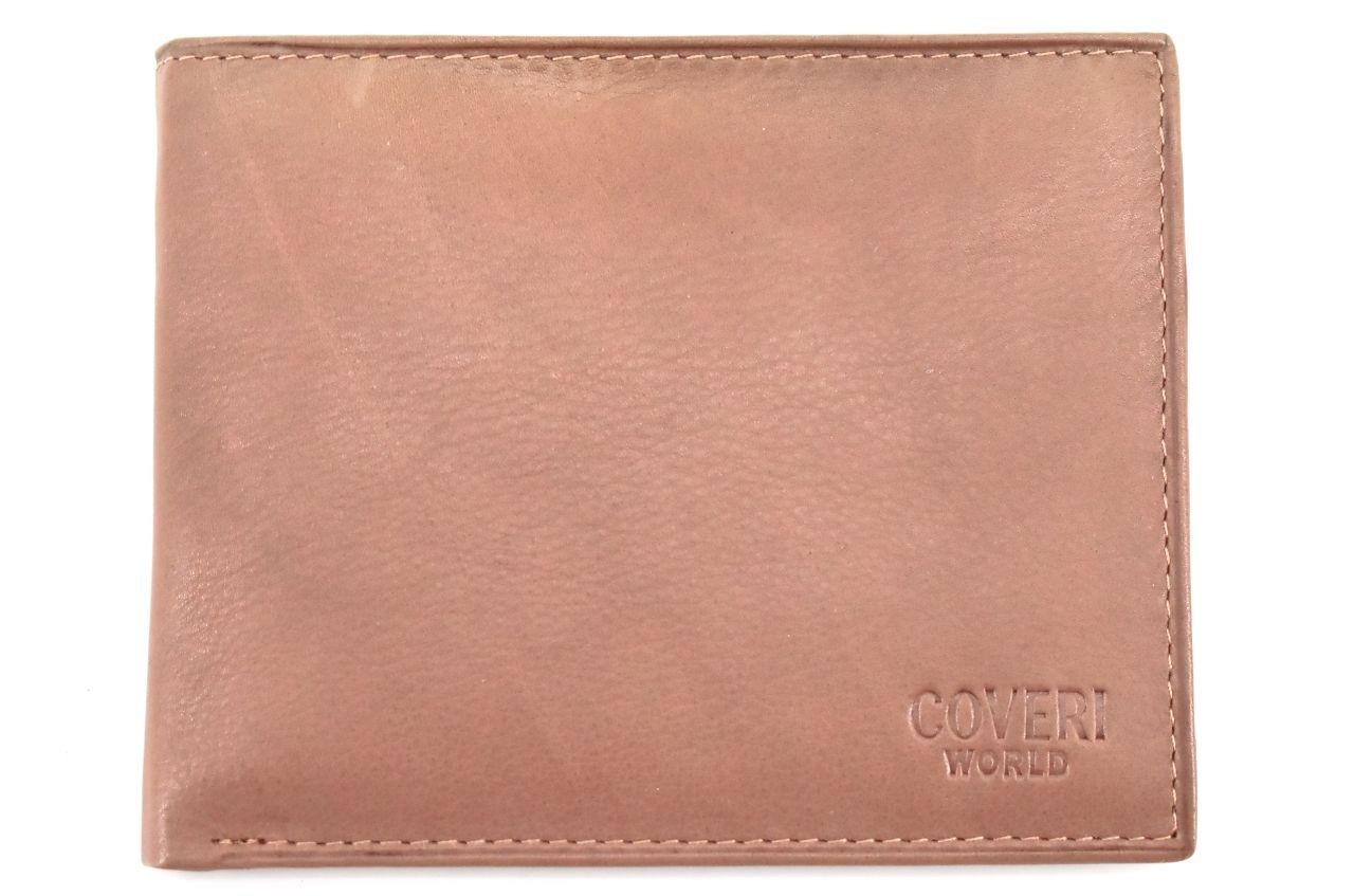 Pánská kožená peněženka z pravé kůže Coveri World- taupe 30103