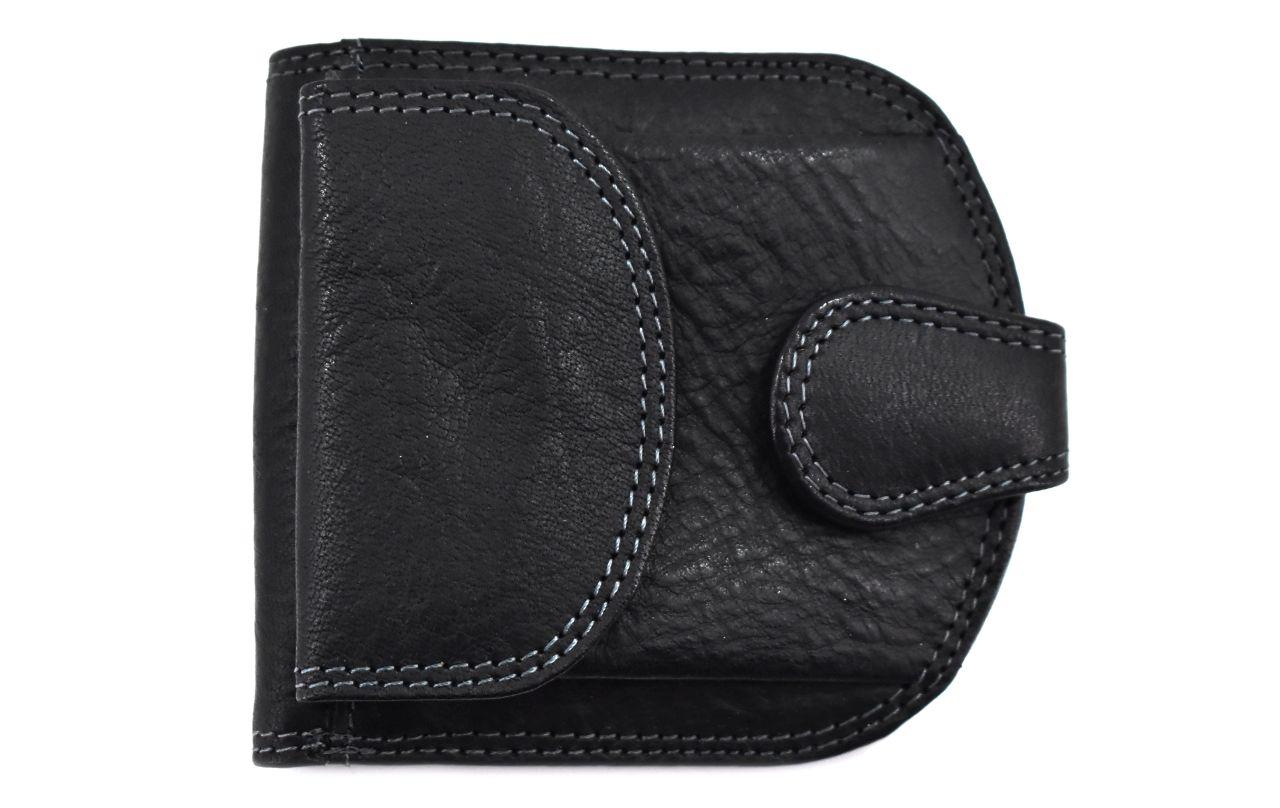 Pánská kožená peněženka z pravé kůže Arteddy - černá 29925