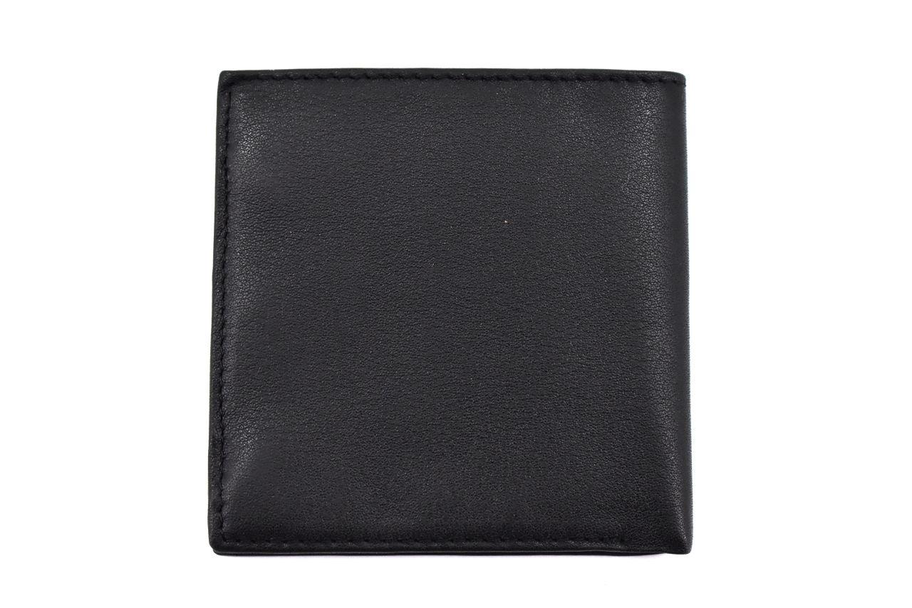Malá kožená peněženka z pravé kůže Pierre Cardin - černá