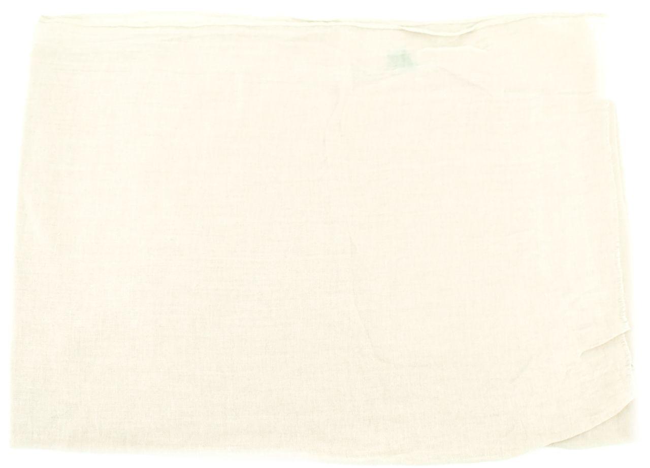 Dámský jednobarevný šátek - krémová
