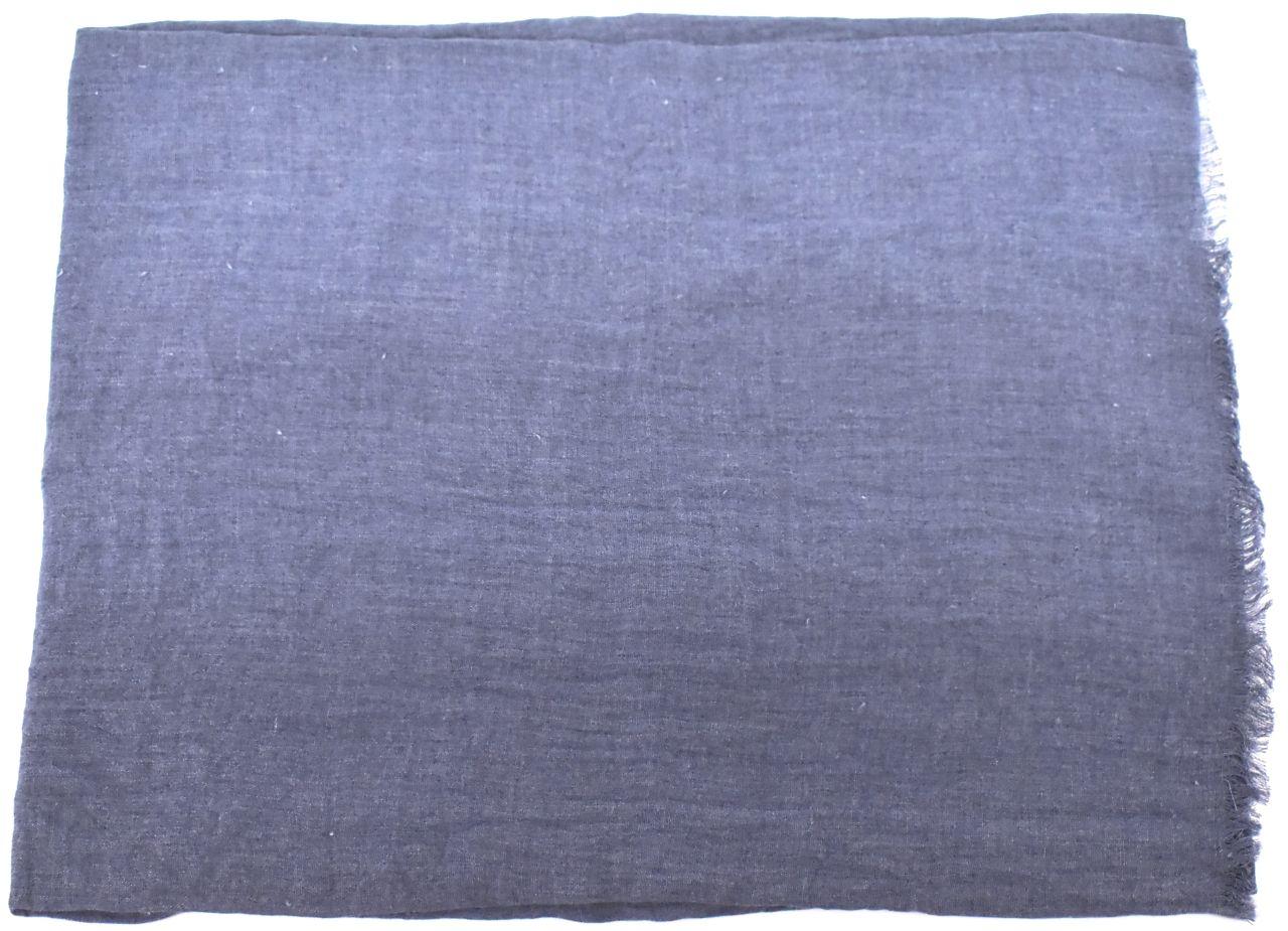 Dámský jednobarevný šátek - jeans