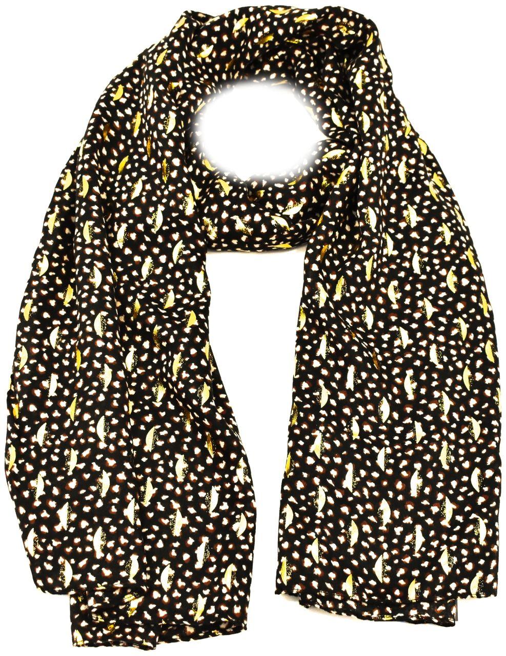 Dámský šátek - černá