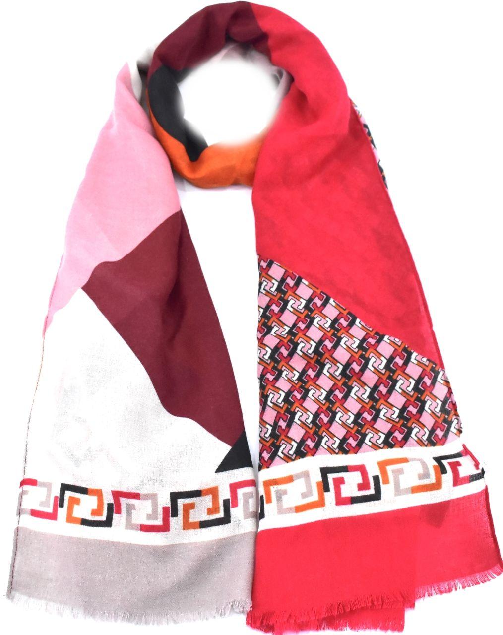 Dámský šátek - červená