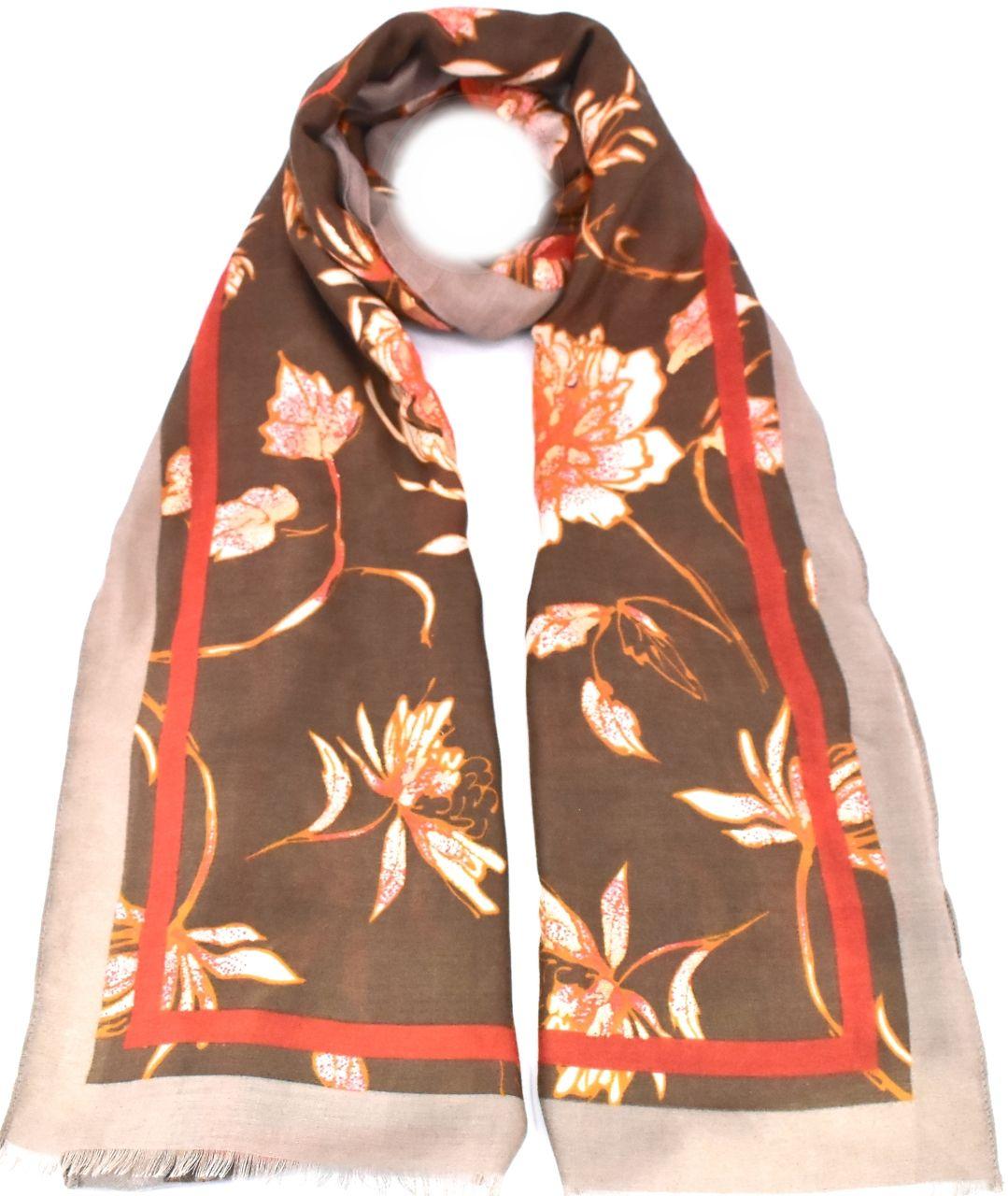 Dámský šátek - béžová