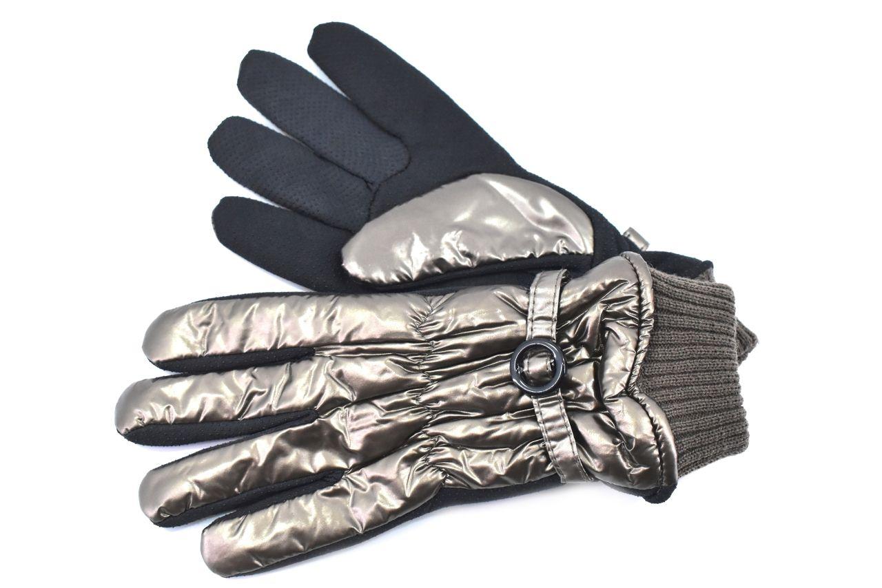 Dámské rukavice - tmavě zlatá