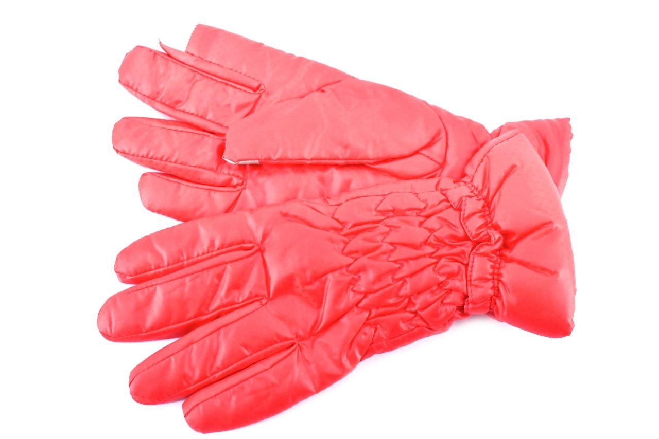 Dámské rukavice - světle červená