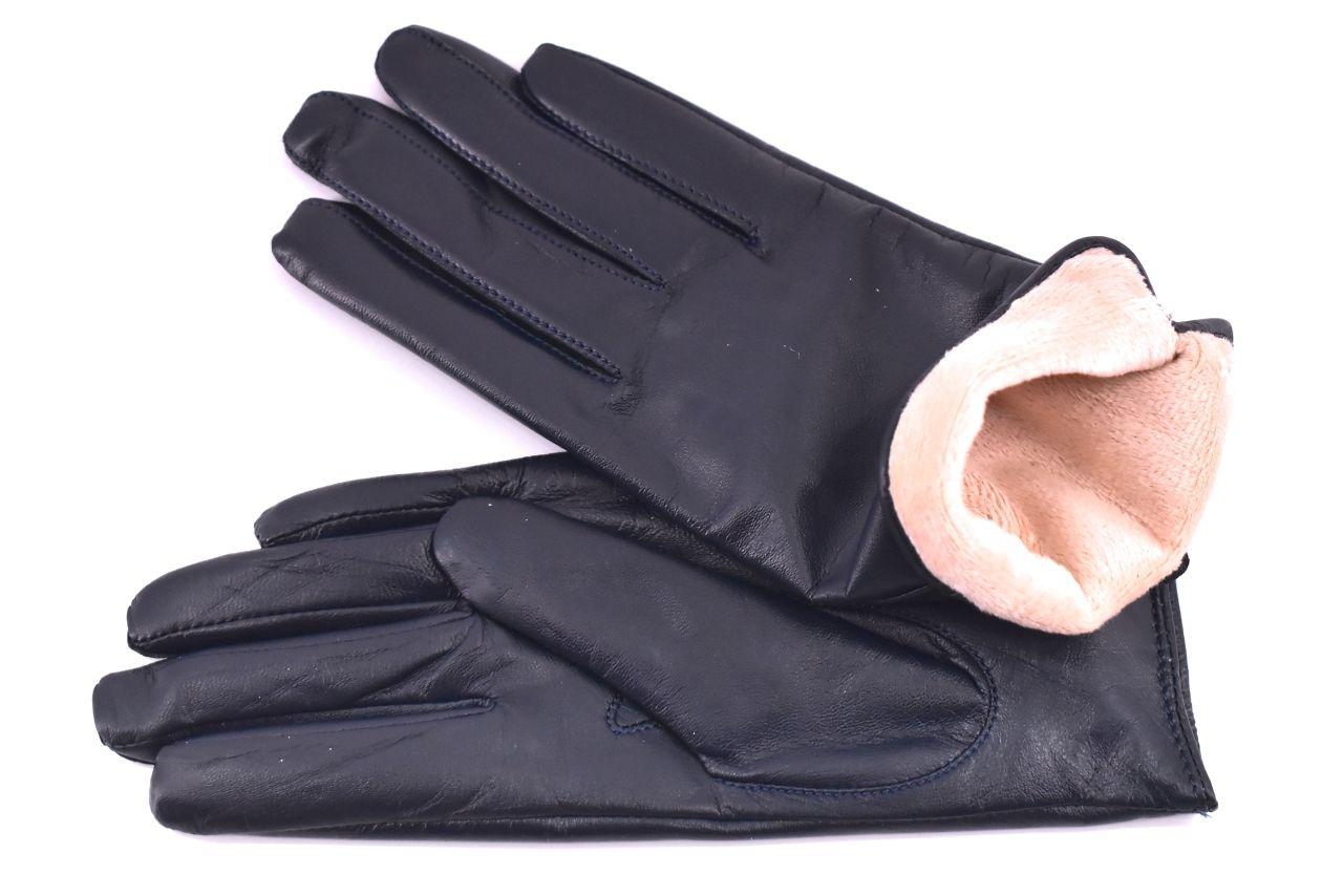 Elegantní zateplené dámské rukavice Every - tmavě modrá (S)