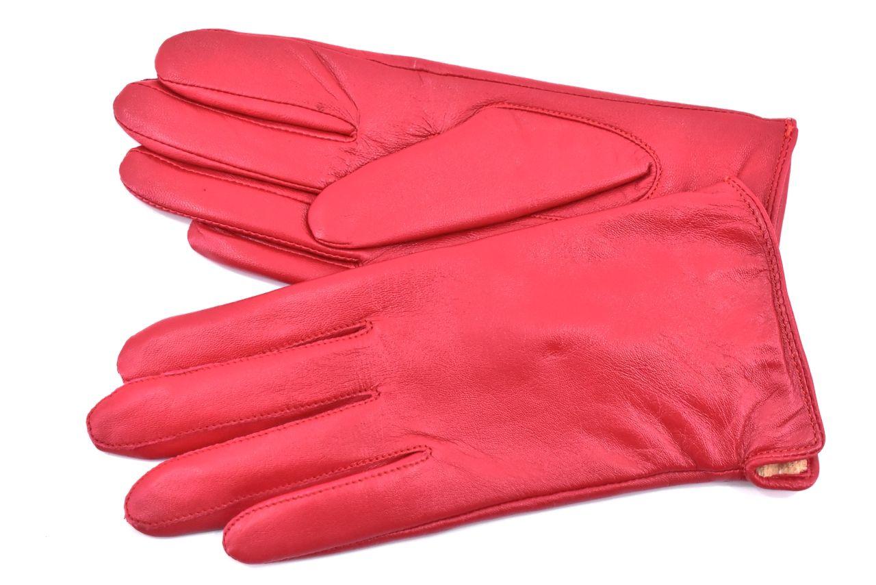 Elegantní zateplené dámské rukavice Every - červená (M)