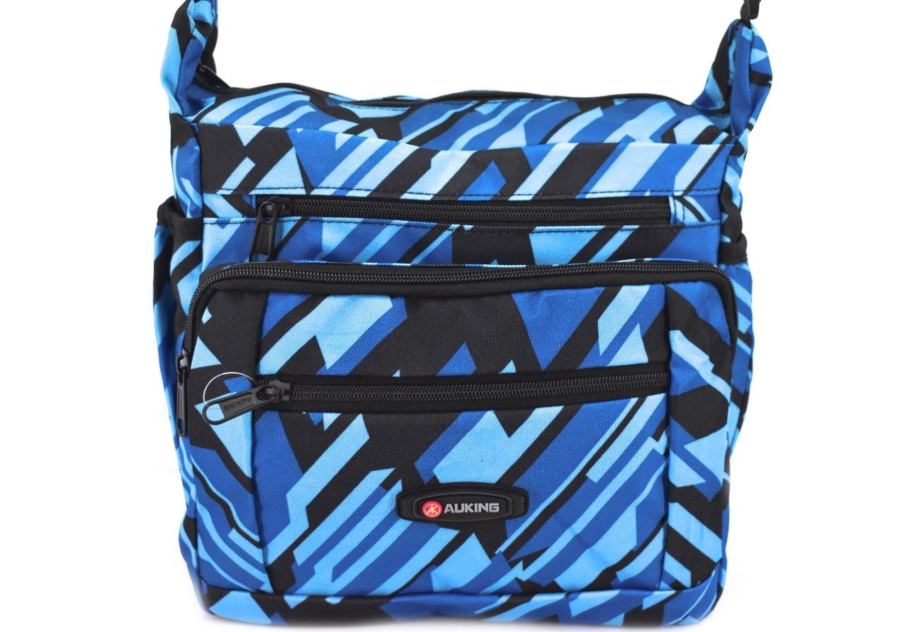 Taška přes rameno AUKING - modrá