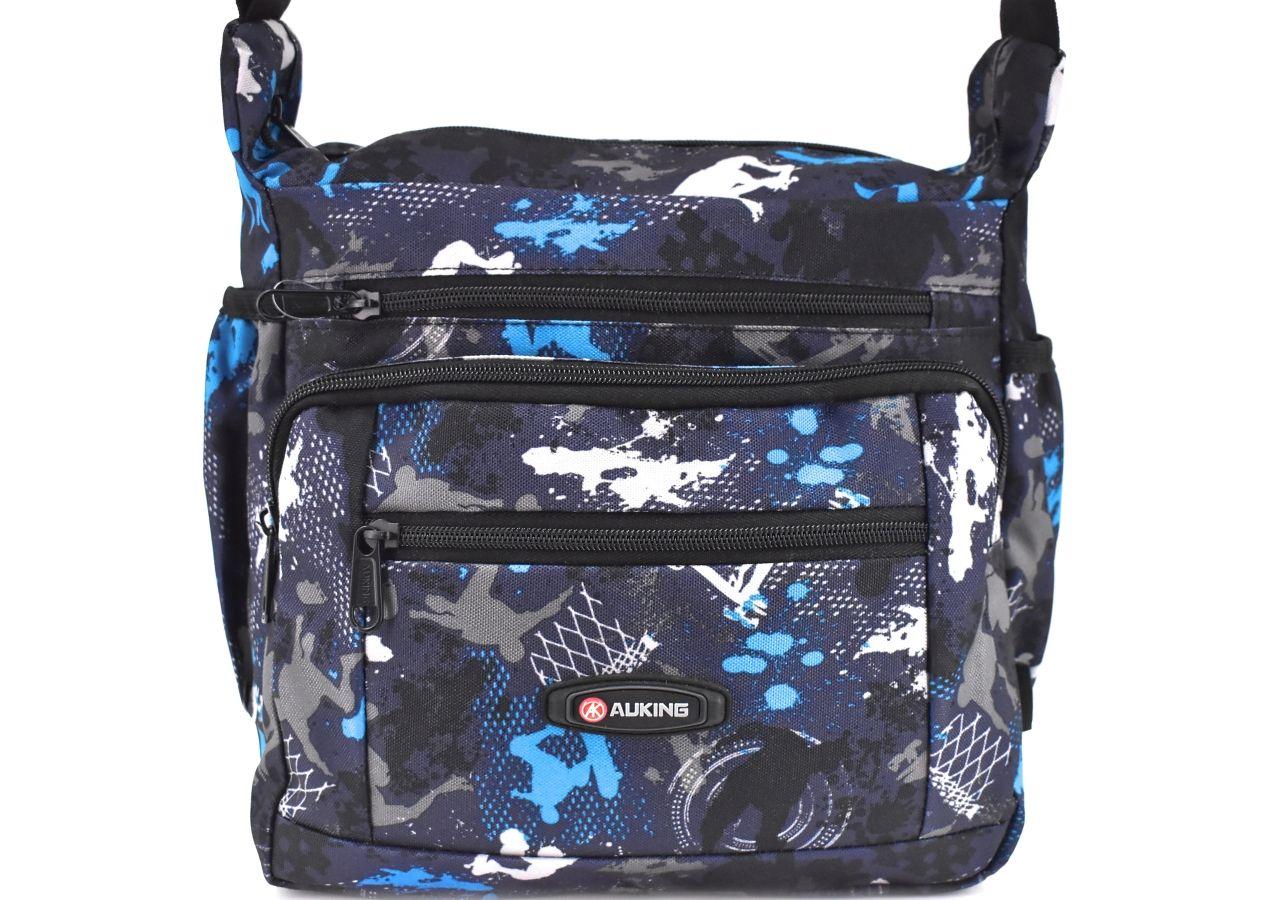 Taška přes rameno AUKING - tmavě modrá