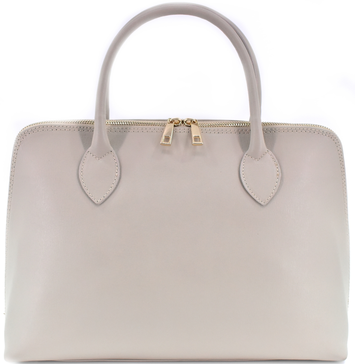 Dámská kožená kabelka Arteddy - béžová 32445