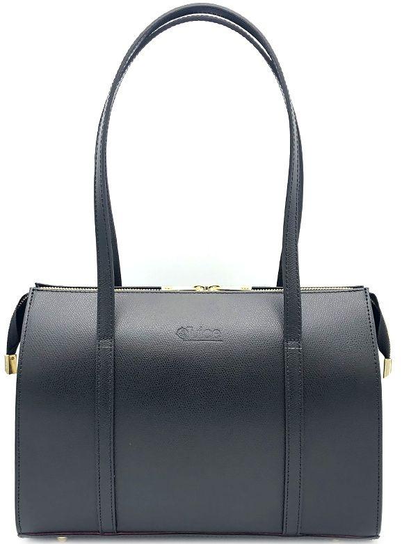 Dámská kožená kabelka  Juice - černá