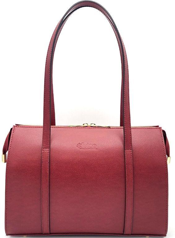 Dámská kožená kabelka Juice - červená 112218