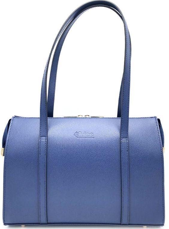 Dámská kožená kabelka  Juice - modrá