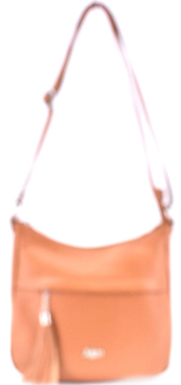 Dámská kožená kabelka crossbody Juice - světle hnědá