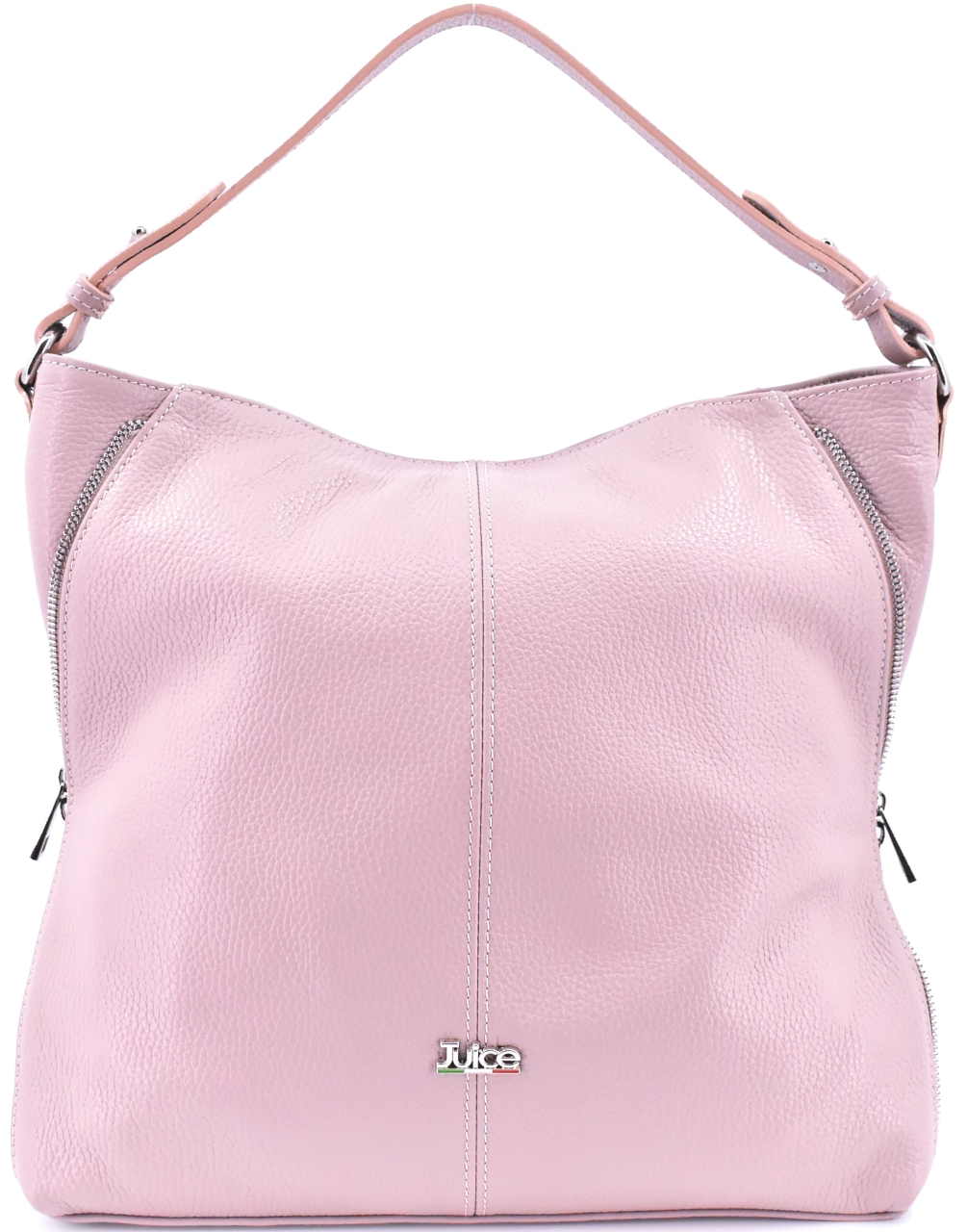 Dámská kožená kabelka Juice - růžová pudrová 112173