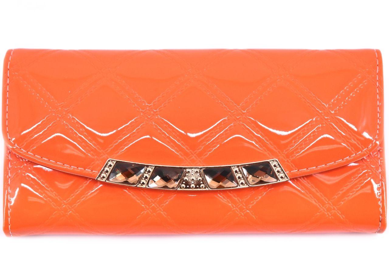 Dámská peněženka - oranžová 27489