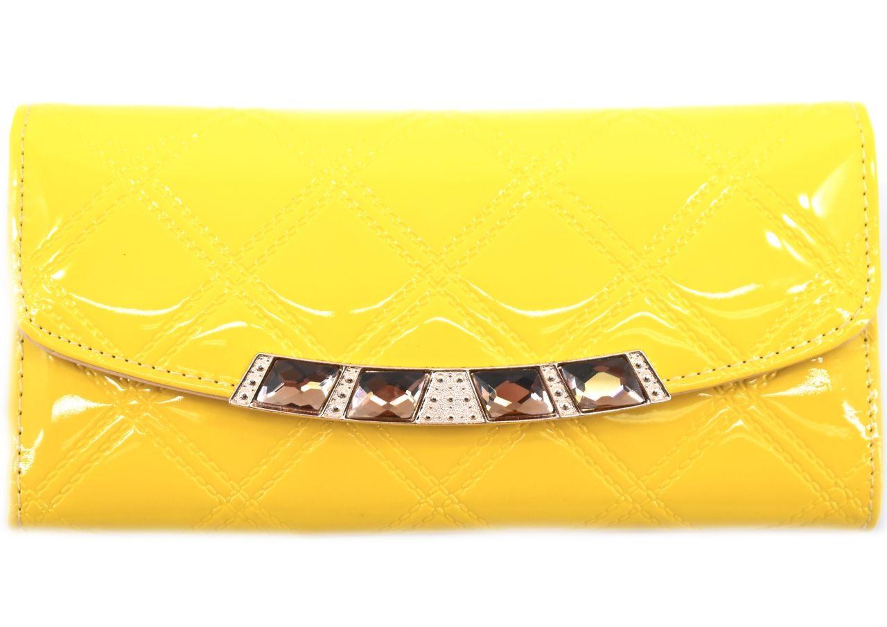 Dámská peněženka - žlutá 27489