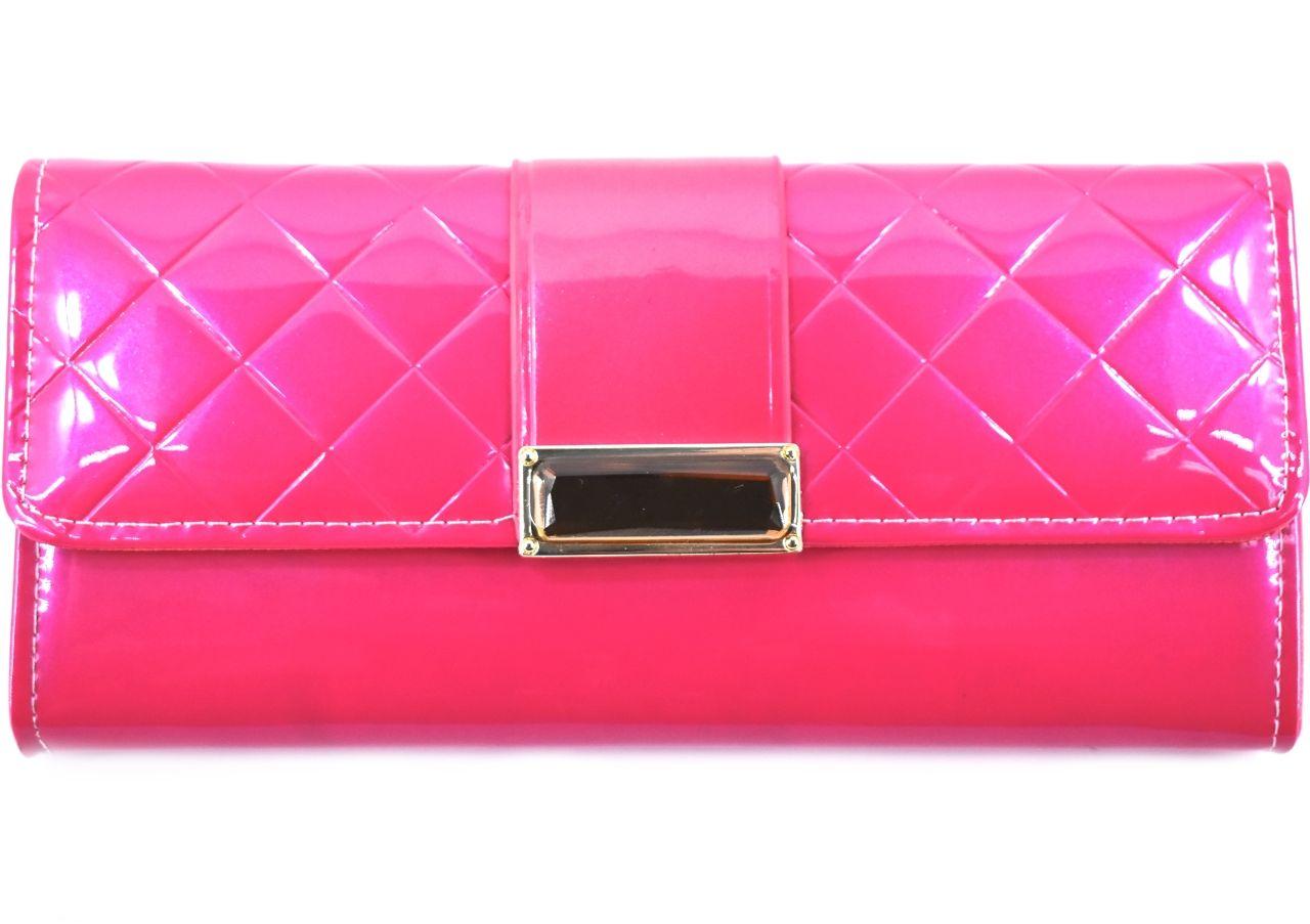 Dámská peněženka a kabelka v jednom - fuchsiová 27499