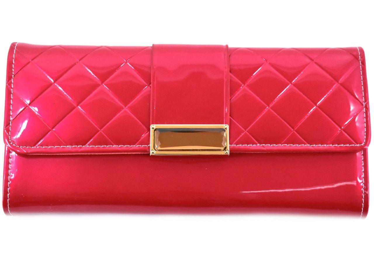 Dámská peněženka a kabelka v jednom - červená 27499