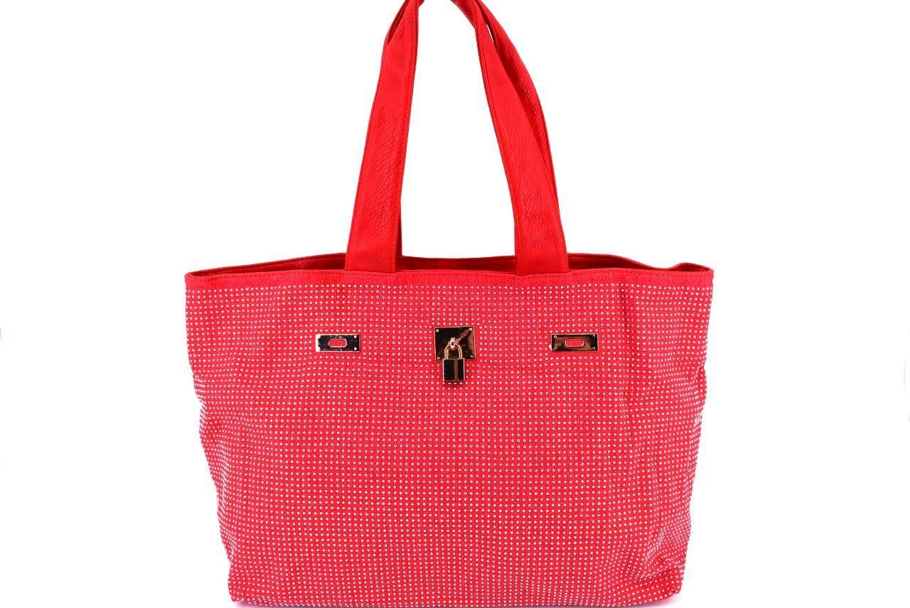 Dámská kabelka červená 27418